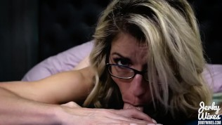 Cory Chase in wohliger Blowjob von Mama